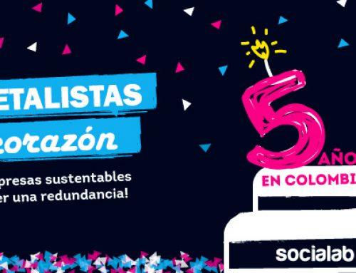 Socialab, cumplimos 5 años en Colombia