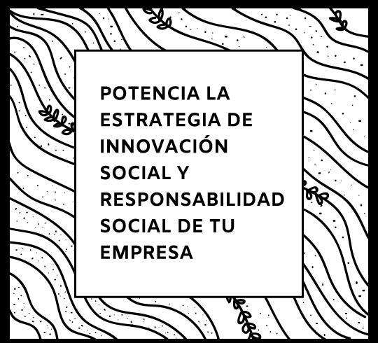 estrategia de innovacion social y rse